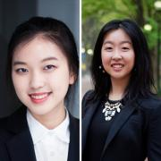 Yixi (Cecilia) Wang, C'20, W'20, and Annie Sun, C'19